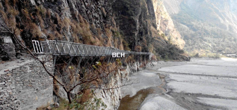Way to Tsum Valley Trek