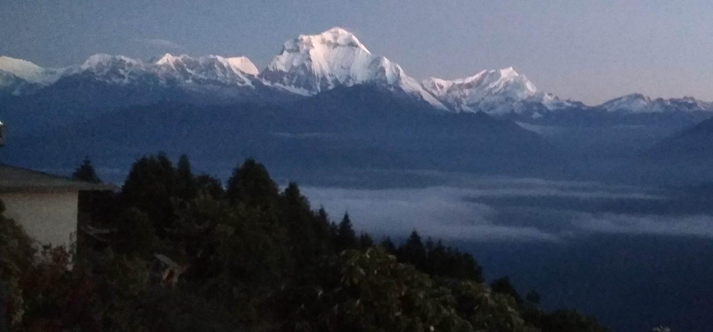 Group join trekking in Nepal
