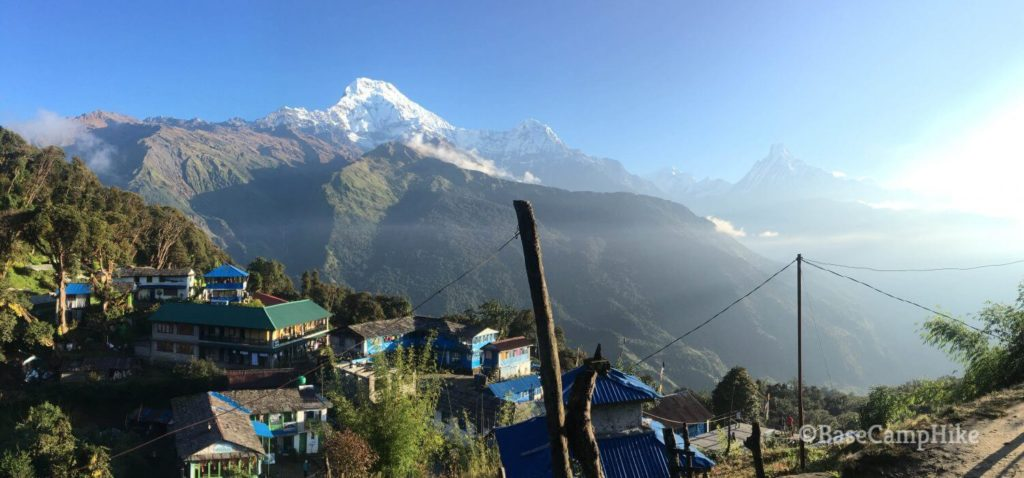 Annapurna View from Tadapani