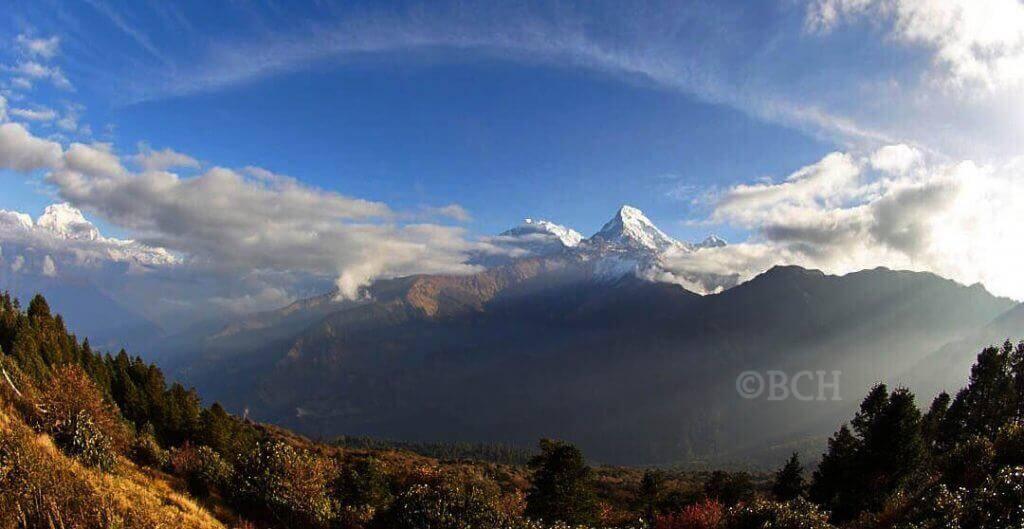panoramic view fromTadapani
