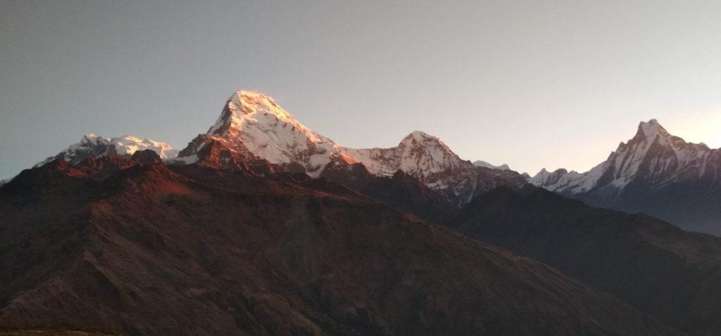 best beginners treks mulde peak