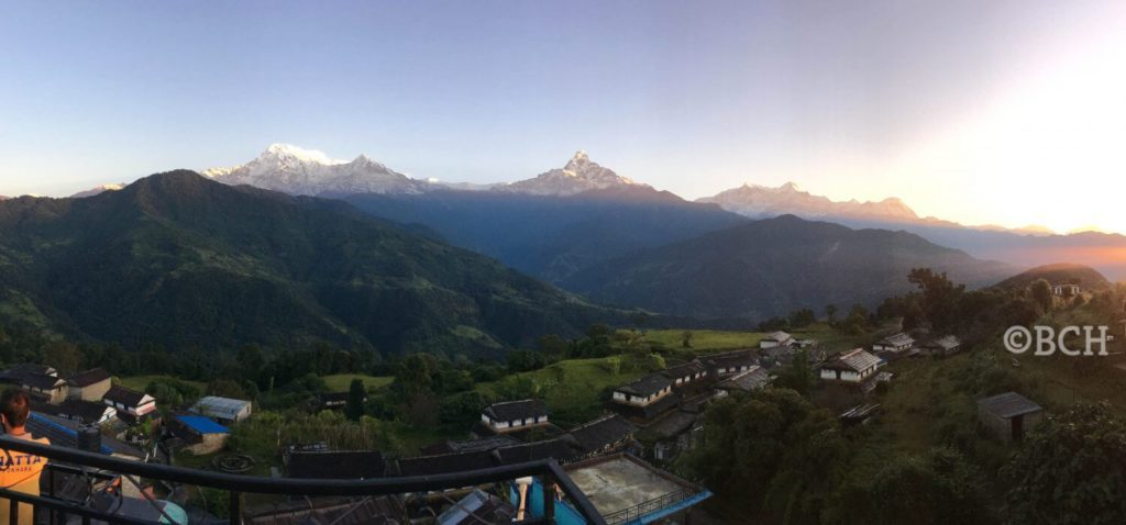 Annapurna Panorama From Dhampus