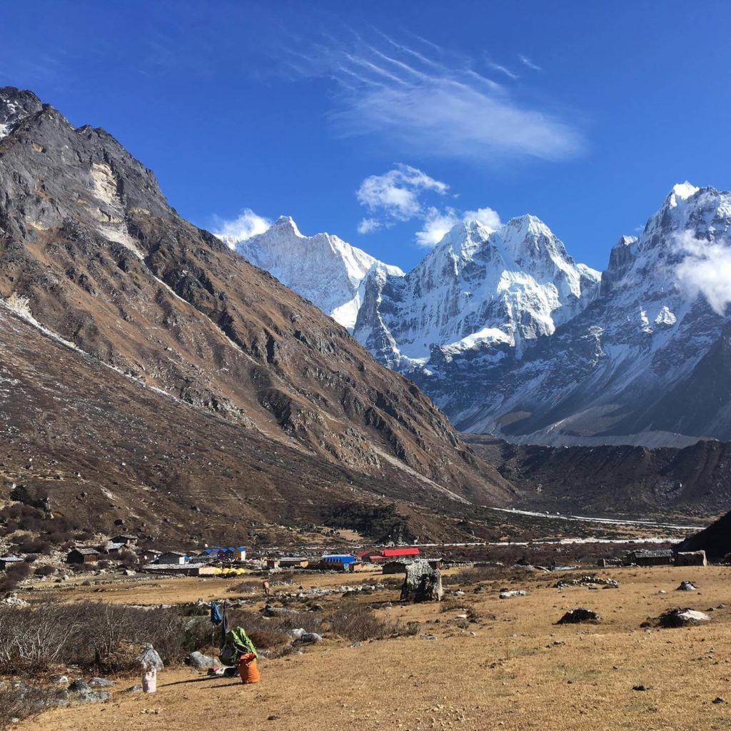 Jannu peak which is lies in Kanchenjunga Base Camp