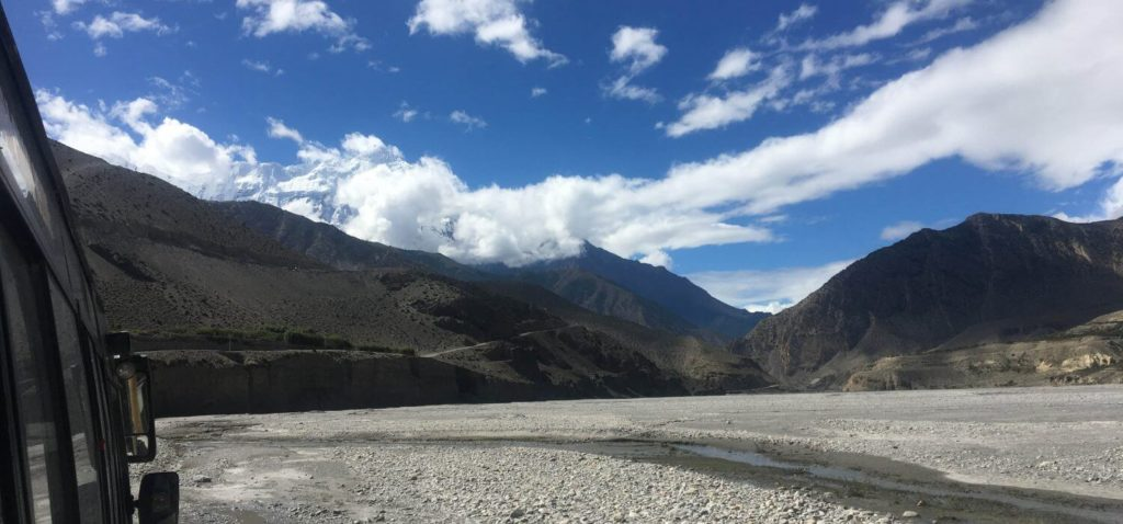 Between Jomsom to Muktinath