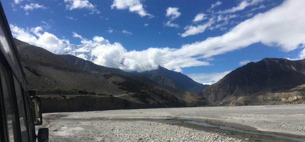 Between Jomsom to Muktinath