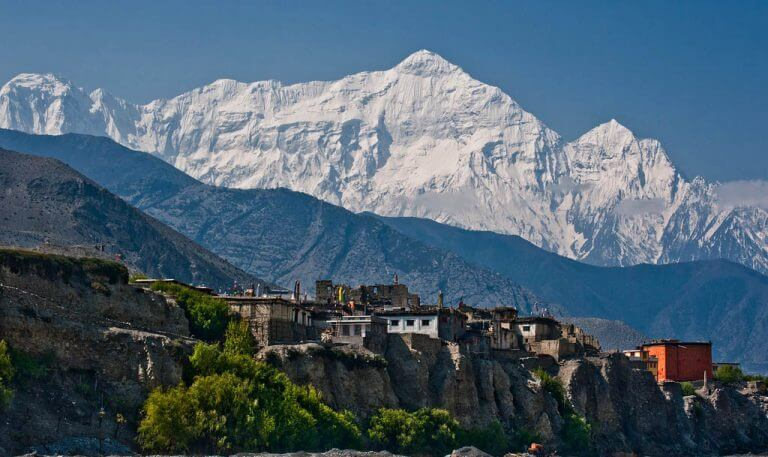View from Jomsom Muktinath Trekking