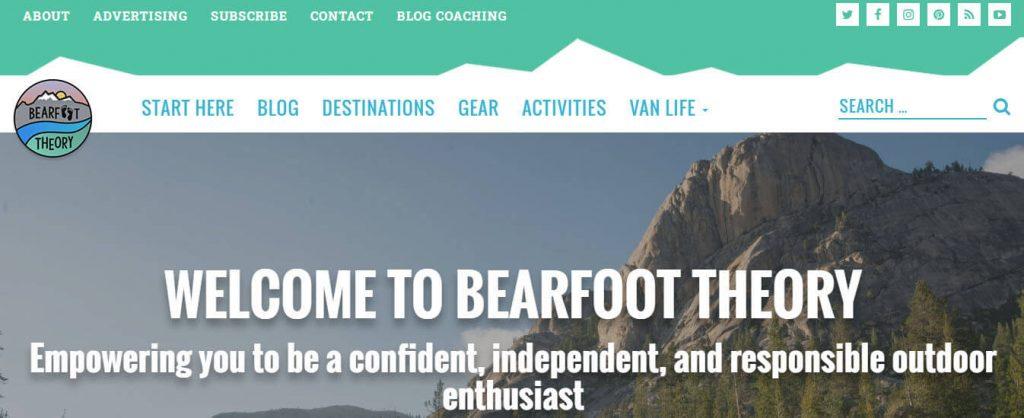 Bear Foot Theory