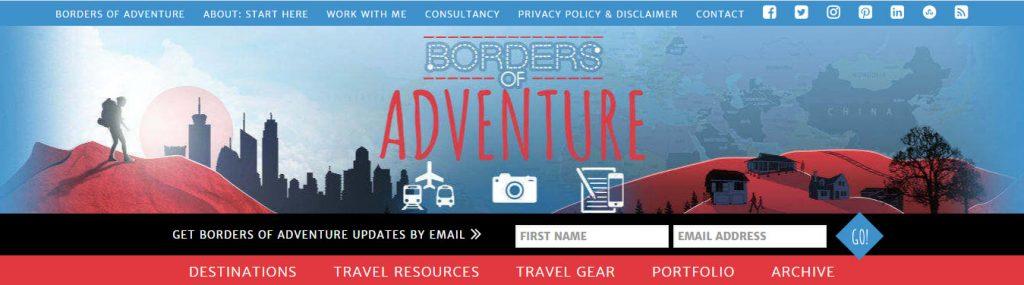 Borders of Adventure