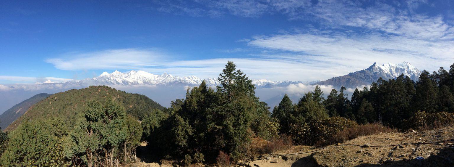 Trekking to Langtang