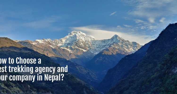 Best trekking agency and Tour company in Nepal
