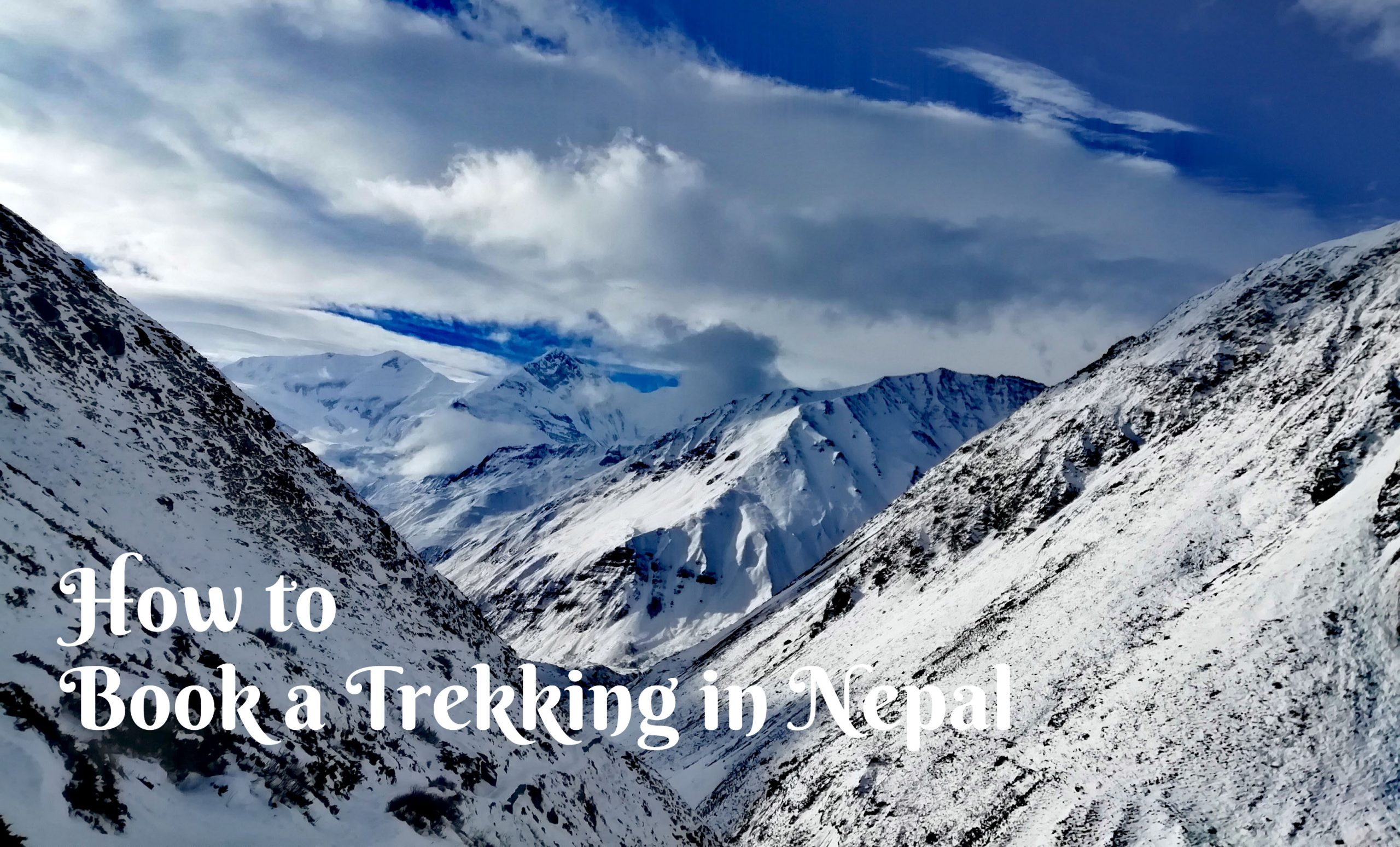 How to book a trekking in Nepal