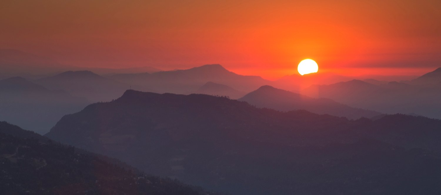 Sunrise and Sunset Tour in Nepal